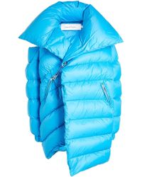 Marques'Almeida - Quilted Down Coat - Lyst