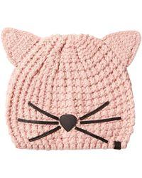 Karl Lagerfeld - Choupette Knit Hat - Lyst