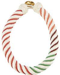 Aurelie Bidermann - Bead Embellished Necklace - Lyst