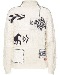 Polo Ralph Lauren - Turtleneck Pullover With Wool, Alpaca And Cashmere - Lyst