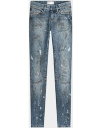 Faith Connexion - Cropped-Jeans - Lyst