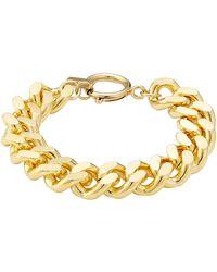 Isabel Marant - Chunky Chainlink Bracelet - Lyst