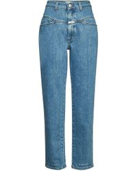 Closed - Pedal Pusher Cropped Jeans - Lyst