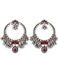 Alexander McQueen - Brass Earrings - Lyst