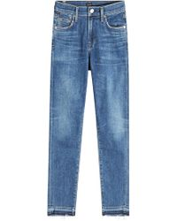 Citizens of Humanity - Skinny Jeans Rocket Hotline im Used Look - Lyst