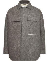 OAMC - Kunsthalle Wool Coat - Lyst