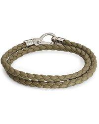 Tod's - Leather Bracelet - Lyst