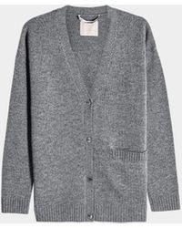 81hours Cardigan Harlow aus Wolle und Kaschmir - Grau
