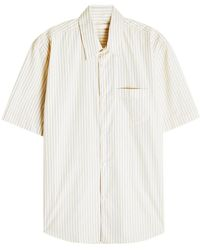 Our Legacy - Initial S Cotton Shirt - Lyst