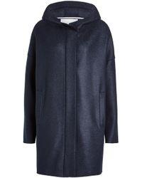 Harris Wharf London - Virgin Wool Coat - Lyst