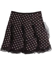 Giambattista Valli - Skirt With Tulle Ruffles - Lyst
