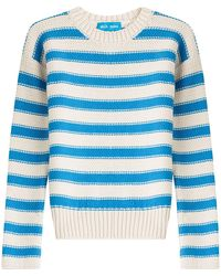 M.i.h Jeans - Amorgos Striped Cotton Blend Pullover - Lyst