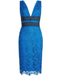 Diane von Furstenberg - Lace Dress - Lyst