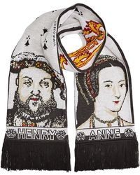 Y. Project - 'henry / Anne' Printed Scarf - Lyst