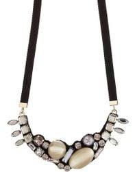 Marni - Crystal Embellished Necklace - Lyst