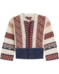 Vanessa Bruno - Embroidered Cotton Jacket - Lyst