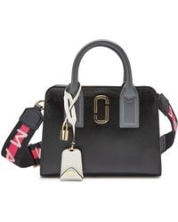 Marc Jacobs - Little Big Shot Leather Handbag - Lyst