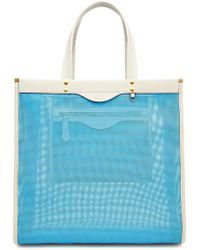 Anya Hindmarch - Mesh Shopper With Leather - Lyst