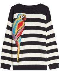 Marc Jacobs - Striped Parrot Pullover In Wool - Lyst