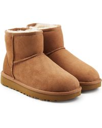 4a620d31f5a Classic Mini Suede Boots - Brown