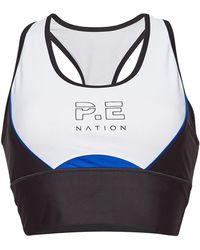 P.E Nation - Acceleration Cropped Sports Bra - Lyst