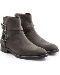 Dolce & Gabbana - Suede Ankle Boots - Lyst