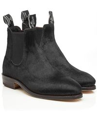 R.M. Williams - Calf Hair Ankle Boots - Lyst