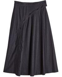 Nina Ricci | Printed Wool Skirt | Lyst