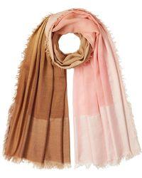 Faliero Sarti | Scarf With Silk And Virgin Wool | Lyst