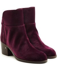 Laurence Dacade - Velvet Ankle Boots - Lyst