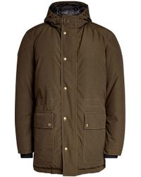 Belstaff - Parka With Down Filling - Lyst