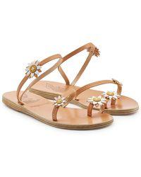 Ancient Greek Sandals - Sheila Leather Sandals - Lyst