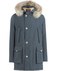 Woolrich - Arctic Df Down Parka With Fur Collar - Lyst