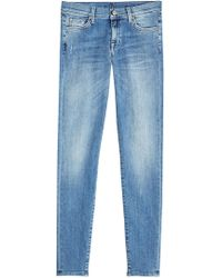 7 For All Mankind - Skinny Jeans - Lyst