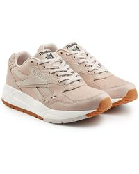 Reebok - Leather Sneakers With Suede - Lyst