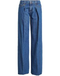 RED Valentino - Wide-leg Jeans - Lyst