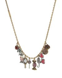 Marc Jacobs - Charms Poolside Chain Necklace With Embellishment - Lyst