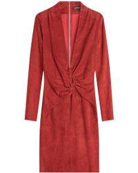 Jitrois - Suede Dress - Lyst