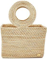 Soraya Hennessy The Clara Mini Straw Handbag - Multicolor