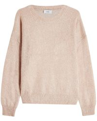 Closed - Pullover With Mohair And Wool - Lyst