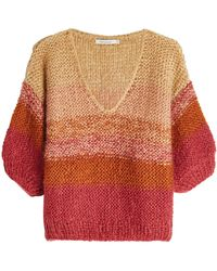 Mes Demoiselles - Pullover With Mohair - Lyst