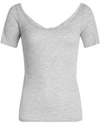 Velvet - T-shirt With Cotton - Lyst