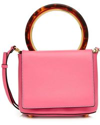 Marni - Pannier Leather Shoulder Bag - Lyst