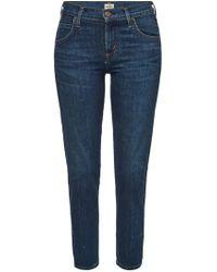Citizens of Humanity - 7/8-Jeans Elsa Mid Rise Slim aus Baumwoll-Stretch - Lyst
