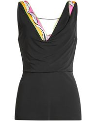 Emilio Pucci - Top With Sequin Embellishment - Lyst
