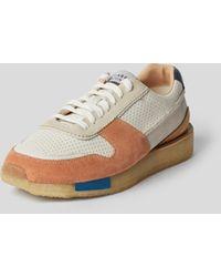 Clarks Sneaker mit Material-Mix - Mehrfarbig