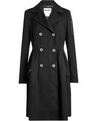 Moschino - Wool Coat - Lyst