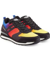 Hogan Rebel - Rainbow And Suede Trainers - Lyst