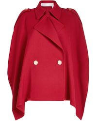 See By Chloé - Trench Cape With Cotton - Lyst