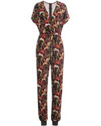 Just Cavalli - Printed Jumpsuit - Lyst